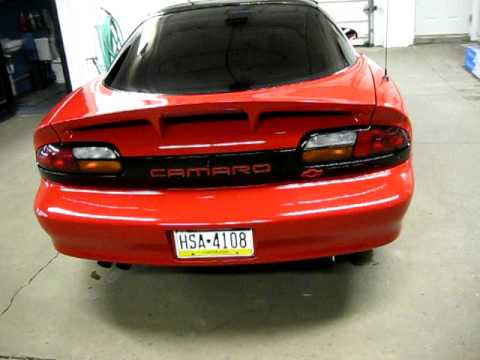 97 camaro z28 with slp exhaust 5 tint walk around youtube. Black Bedroom Furniture Sets. Home Design Ideas