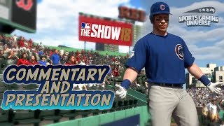 MLB The Show 18 New Additions to Commentary And Presentation - New Announcer & Updated Crowds MLB 18