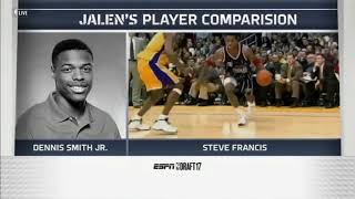 Jalen Rose 2017 NBA Draft Comparisons (3 years later)