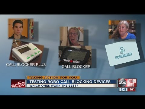 Testing Robo Call Blocking Devices, Apps