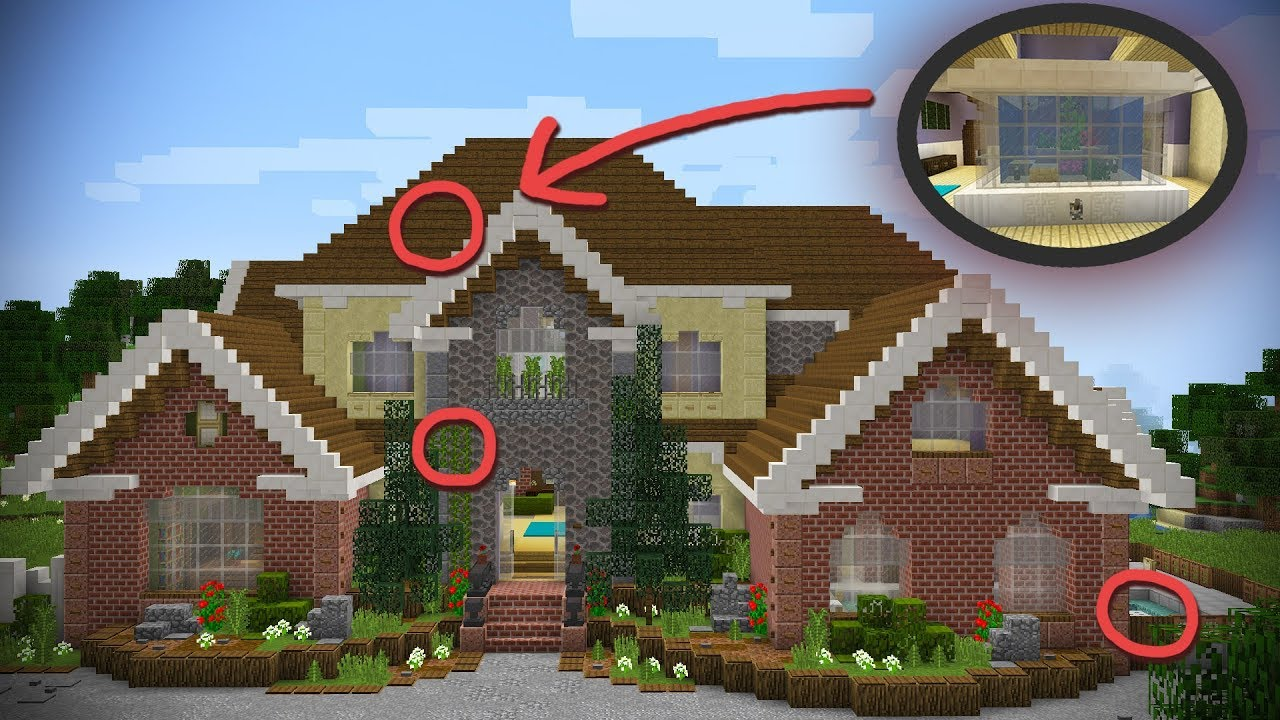 How To Make HIDDEN Minecraft ROOMS Using The Aquatic ...