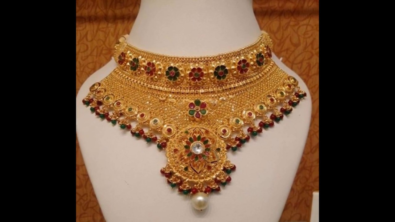 latest Indian gold jewelry designs YouTube