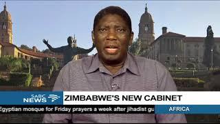 Dr Martin Rupiya analysis Zimbabwe's new cabinet