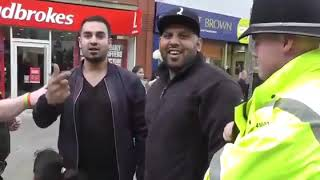 Britain First Recruiting in Halifax Yorks Oldham, NOT behaving like MDL #Barbarians😚🇬🇪🇬🇧