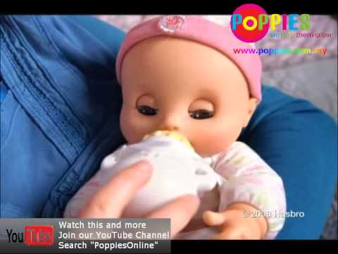 Baby Alive Newborn Doll Available At Poppies Youtube