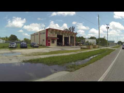 Felix Sabates Chevrolet Cadillac drive on Dixie Highway, Homestead, Florida, 4 August GP090061