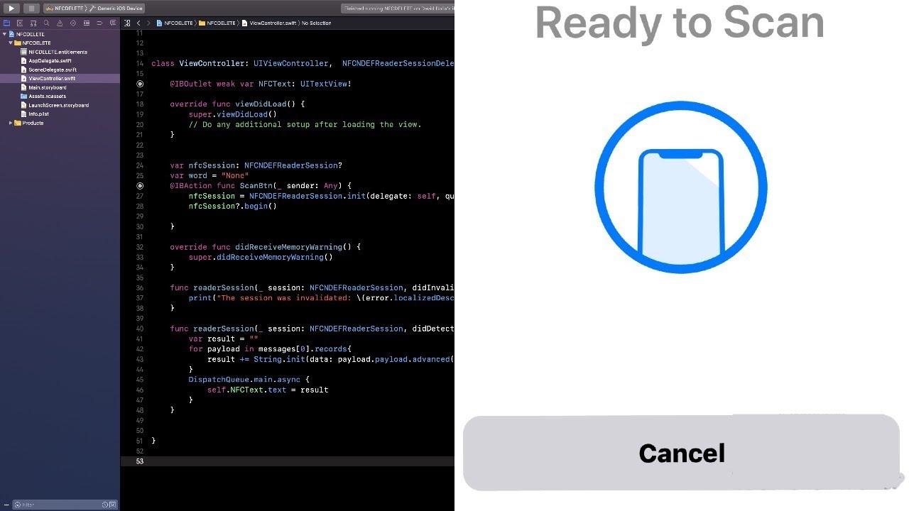 How To Create an NFC Reading App in IOS