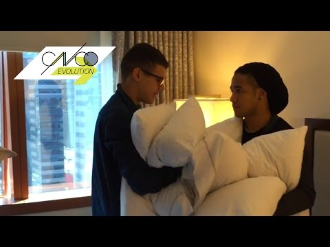 CNCO Evolution |From the hotel to the stage, a day in the life of CNCO