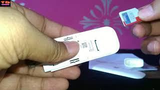 Huawei E8372 4g WiFi dongle unboxing [HINDI]