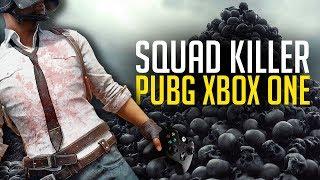 PUBG Xbox One X Squad KILLER (Playerunknown's Battlegrounds)
