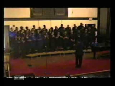 I love Him, Howard Gospel Choir, 2001, composer Michael Pickett