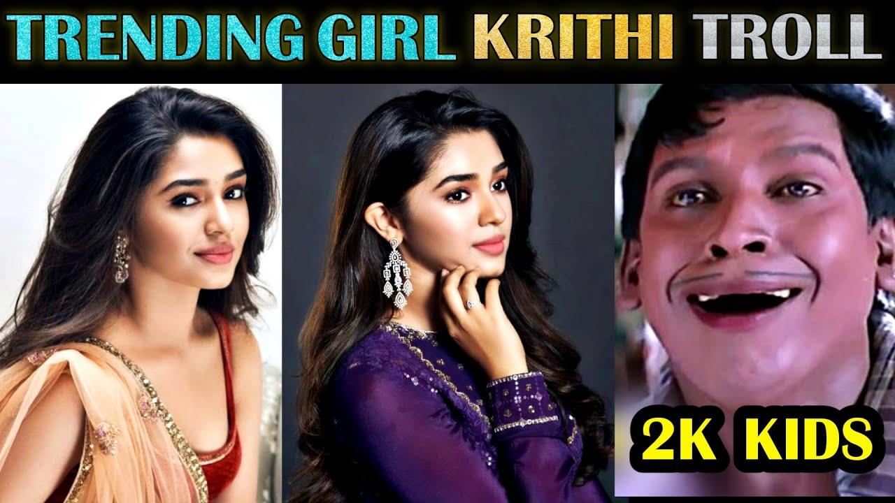 Krithi Shetty - Trending Girl Troll | Photoshoot | Social Media | Tamil | Rakesh & Jeni 2.0