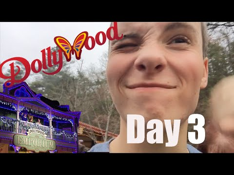 Pigeon Forge, TN Thanksgiving 2015 Day 3 Dollywood
