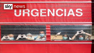 Spain's COVID-19 deaths continue to fall