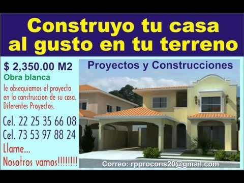 Axochiapan te construyo tu casa arquitectura construccion for Construccion casas
