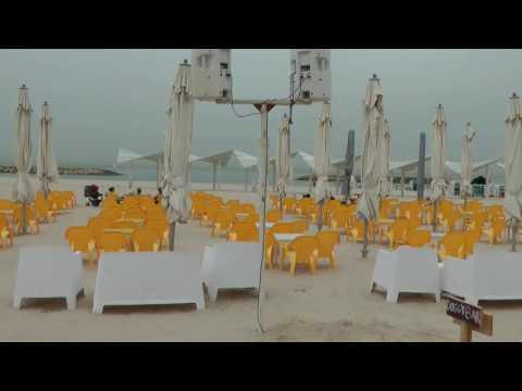Herzliya Beach - End of the summer