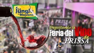Degustando la Feria del Vino de PRISSA