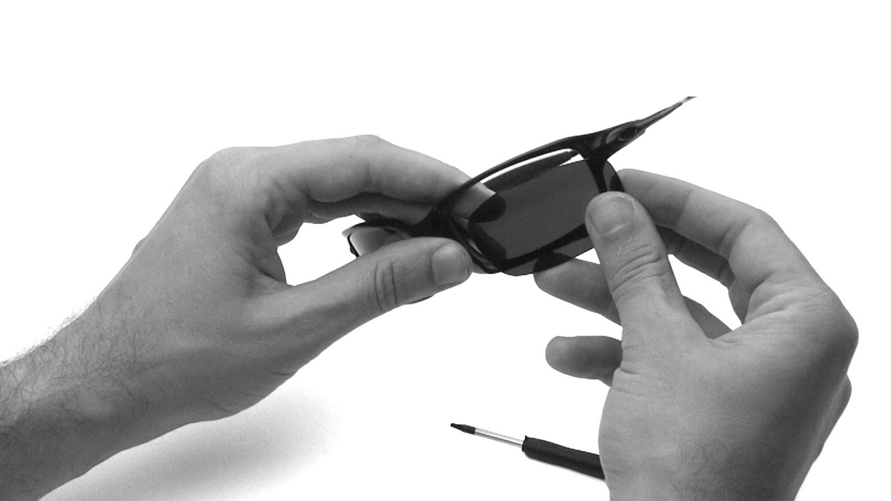 9753961873 Oakley X Squared Lens Replacement   Installation Instructions - YouTube