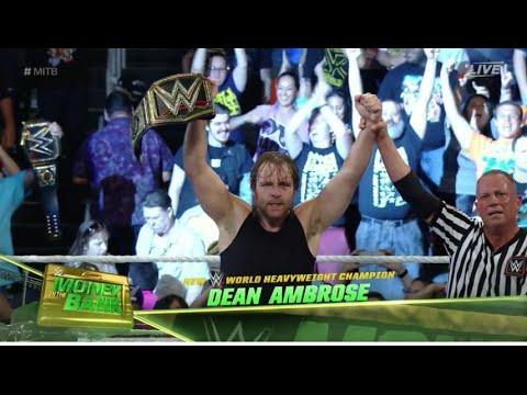 OMG!! DEAN AMBROSE NEW WWE CHAMPION