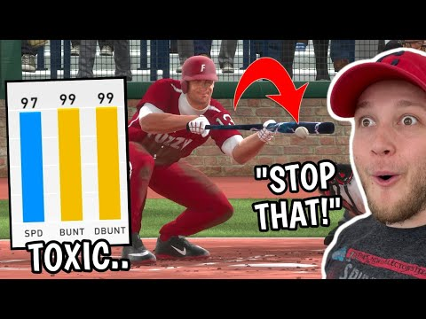 i built the MOST TOXIC SQUAD possible and made my opponent ANGRY.. MLB The Show 20