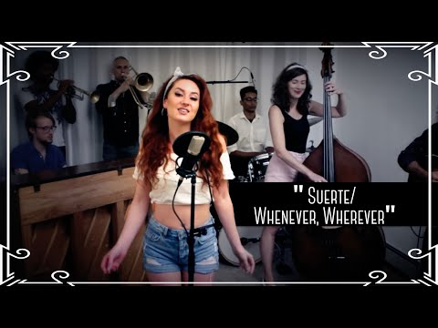 """""""Suerte/Whenever, Wherever"""" (Shakira) Latin Cover by Robyn Adele Anderson"""