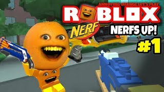Roblox: NERF FPS 2017 #1 [Annoying Orange Plays]