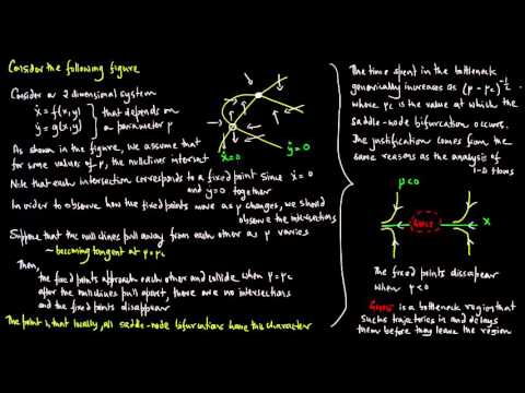 2-Dimensional Flows, Bifurcations, Lecture 1