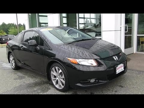 2012 Honda CIVIC Si Lynnwood Everett Seattle Kirkland Burlington