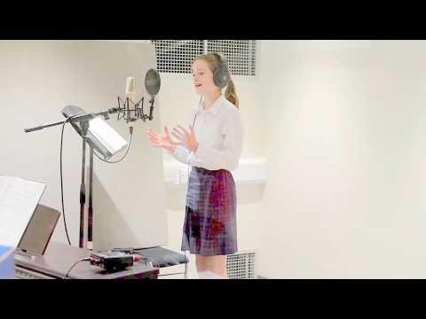 Bea at Downside School Recording Studios