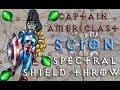 [3.2] Day 2 Shield Throw T15 Lava Lake Map Run - Captain Americlast