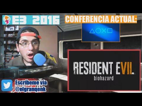 E3 2016: Reacción a Resident Evil VII (REVII)