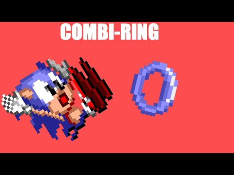ROM Hacking Experiments - Knuckles Chaotix Combi-Ring In Sonic 1 | Iso Kilo