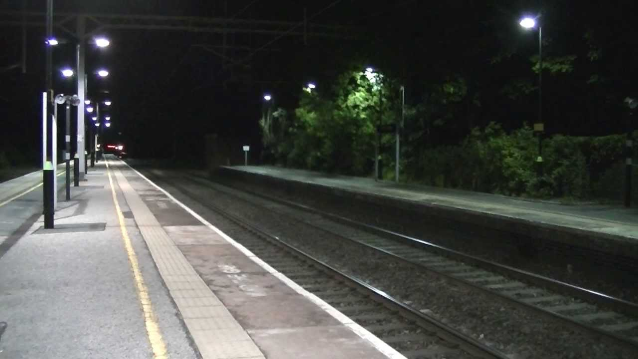 All 4 First Scotrail Caledonian Sleepers Pass Acton Bridge 07 06 13