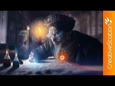 Zol' Thai - The Grand Alchemist - Speed Art - (#Photoshop) | CreativeStation