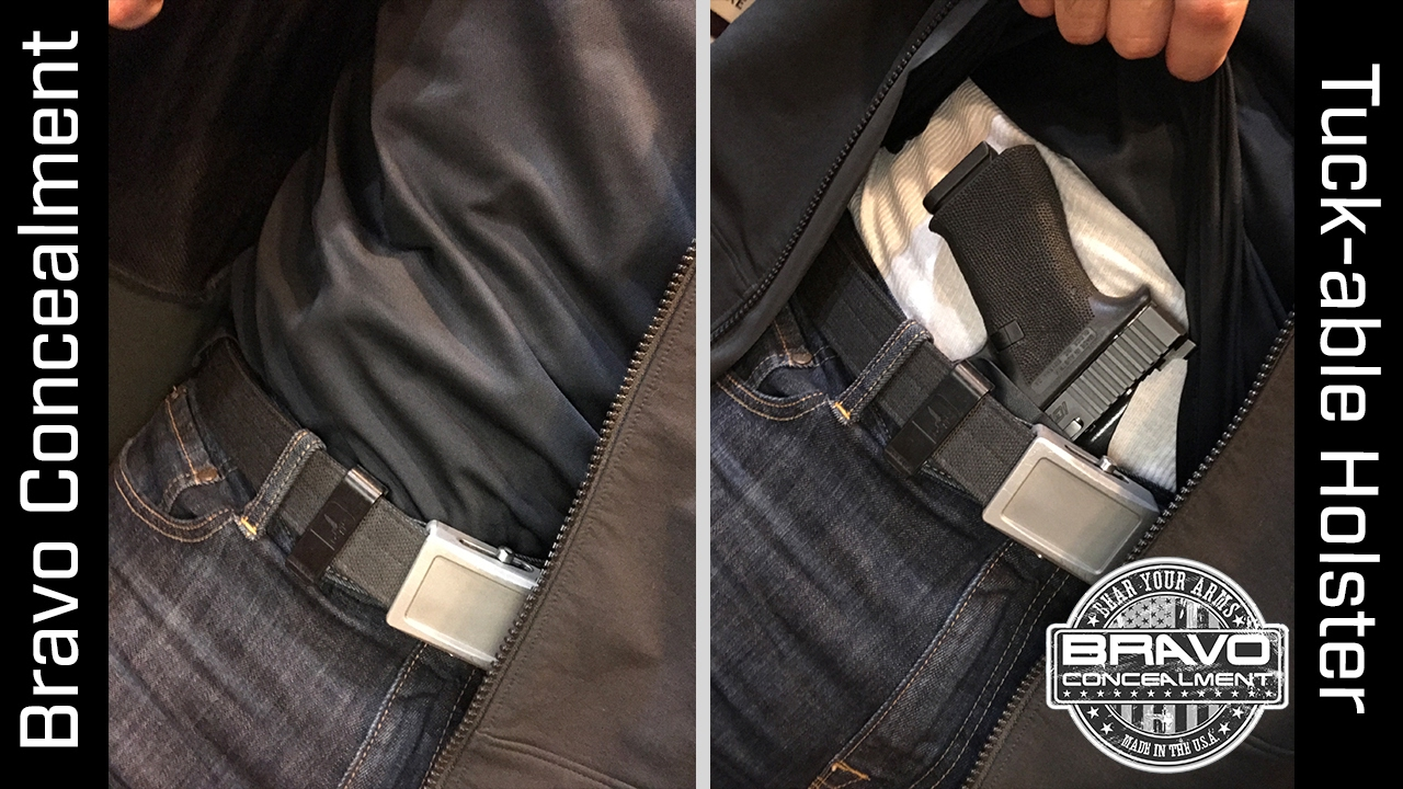 Inside the WaistBand Kydex Gun Holsters – Bravo Concealment