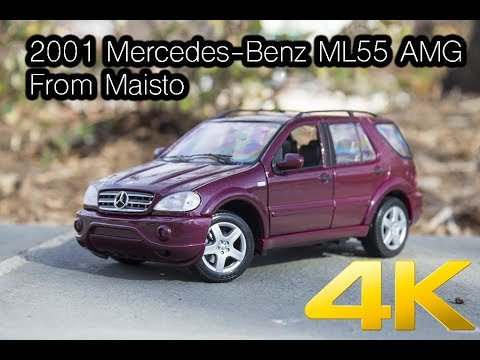 2001 mercedes benz ml55 amg from maisto available in 4k. Black Bedroom Furniture Sets. Home Design Ideas