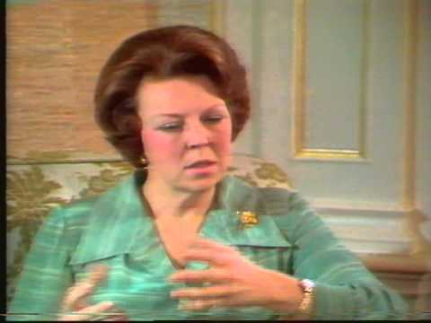 Nos Interview Beatrix en Prins Claus 1980