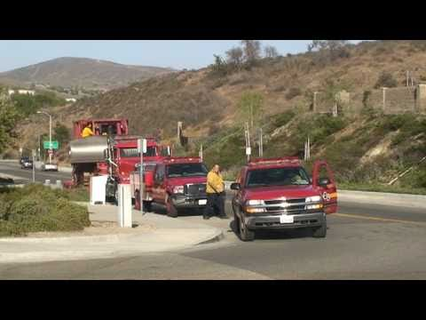Los Angeles County Fire Department (LACoFD) Dozer Tender and Dozer