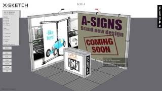 X-Module rendering & design software: X-Sketch version 3,2 instruction video: