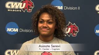 CWU Women's Rugby National Championship Interviews