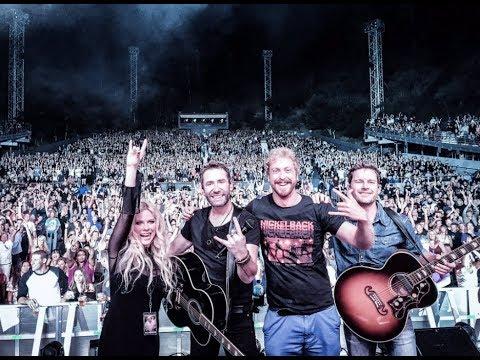 Nickelback feat Avril Lavigne-Rockstar Live (Los Angeles 2017)