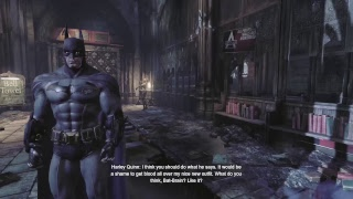 Batmans coming for you joker  [Batman Arkham City]