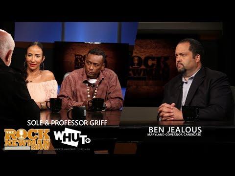 Professor Griff, Solé & Ben Jealous on The Rock Newman Show