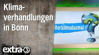 Christian Ehring: Klimaverhandlungen in Bonn