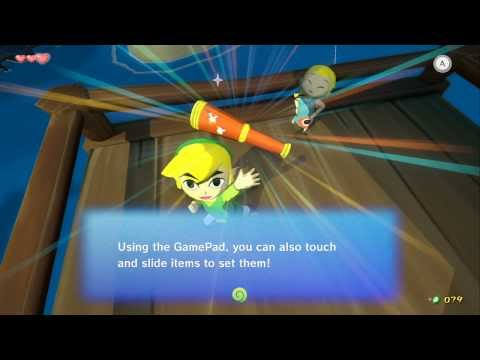 Wind Waker HD | Playthrough Part 1 (No Commentary) | Outset Island