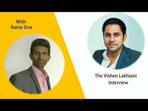 Vishen Lakhiani interview with Rama Siva from Rich Thinking Guru