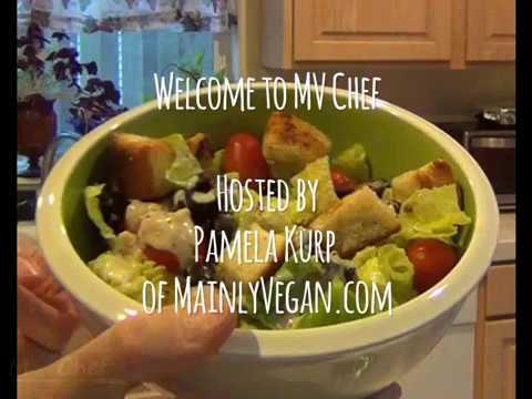 Caesar Dressing (Vegan) - Mainly Vegan Recipe by MV Chef