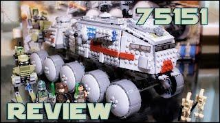 Lego Star Wars 75151 Clone Turbo Tank Review