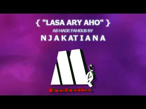 NJAKATIANA - LASA ARY AHO (G.V Karaoké Lyrics)