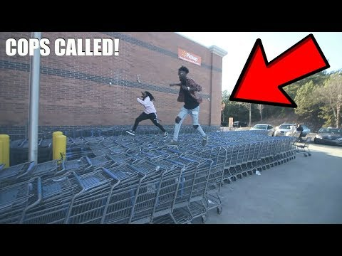 TRYING TO GET KICKED OUT OF WALMART 2 **Cops Called**